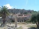 156_Atena_Agora_pogled_na_Akropolis
