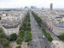 pogled na Champs Elysses